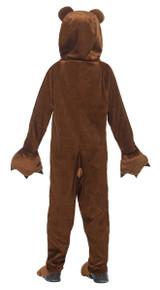 Costume d'Ours à Capuche pour Fille back