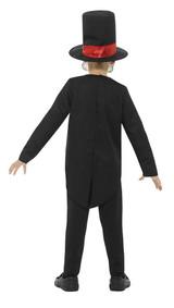 Costume Jour des Morts Garçon back