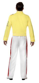 Costume de Freddie Mercury de Queen back