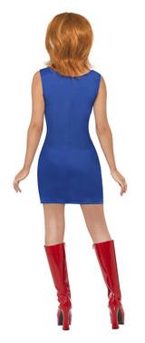 Costume de Ginger des Spice Girls back