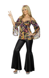 Costume Grandeur Plus d'Hippie back