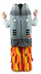 Costume de Jetpack Gonflable Adulte back