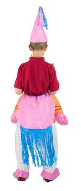 Costume Gonflable de Licorne pour Enfant back