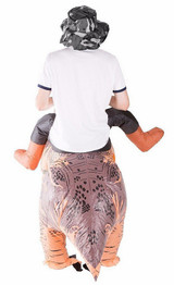 Costume de Dinosaure Deluxe Gonflable Adulte back