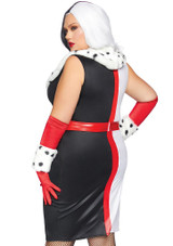 Costume de Cruella D'Enfer Plus back