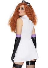 Costume Sexy de Savante Folle pour Femme back