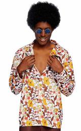 Costume Floral Années 70 Homme