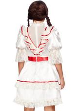 Costume Poupée Hantée Femme back