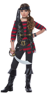 Costume de Pirate Regénat pour fille - deuxieme image