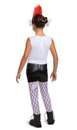 Costume Barb Trolls pour Filles - deuxieme image