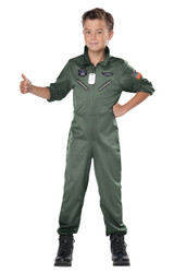 Costume de pilote de chasse pour garçon