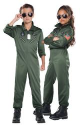 Costume de Pilote de Chasse pour Garçons - deuxieme image