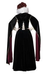 Costume de la reine élisabéthaine pour femme