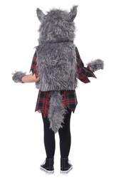 Costume de Loup Garou pour Fillettes - deuxieme image