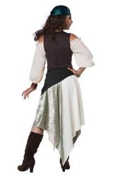 Costume de Gitane de la Renaissance pour Femmes - deuxieme image