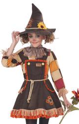 Costume d'Epouvantail pour Filles - deuxieme image