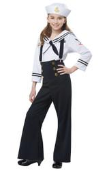 Costume de Marine pour Filles