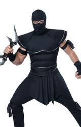Costume de Ninja Furtif pour Hommes - deuxieme image