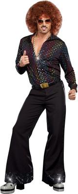 Pantalon de disco pour hommes - deuxieme image
