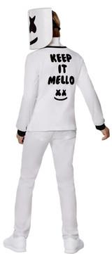 Costume Fortnite Marshmello pour Garçons - deuxieme image