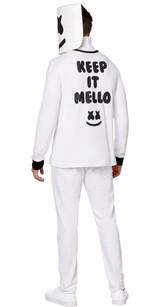Costume Fortnite Marshmello pour Adultes - deuxieme image