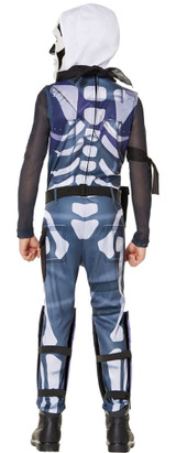 Costume de Fortnite Skull Trooper pour Garçons - deuxieme image