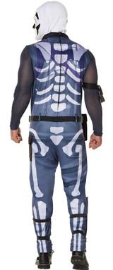 Costume de Fortnite Skull Trooper pour Hommes - deuxieme image
