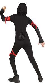 Costume de Ninja Pour fille - image de dos