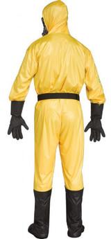 Costume Danger Biologique pour Hommes avec Effet Sonore - image de dos