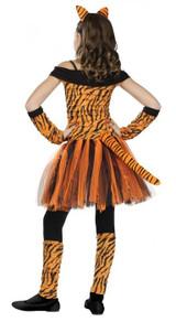Costume de Tigresse pour fille - image de dos