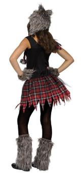 Costume de Louve Sauvage pour fille - image de dos