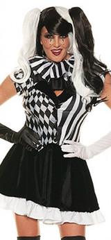 Costume Bouffonne pour Femmes