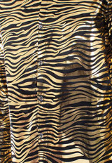 Chemise en metal Tiger King Gold