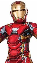 Deguisement Avengers Iron Man Garcon - deuxieme image