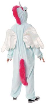 Costume Unicorne Combinaison à Capuche Pegacorn