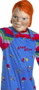 Costume adulte de Chucky - deuxieme image