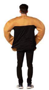 Costume de Pretzel en Mains Oktoberfest pour Hommes - image du dos