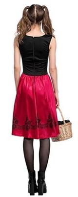Costume du Chaperon Rouge pour Femme - image du dos