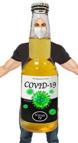 Costume Bière COVID-19 pour Hommes - image du dos