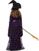 Costume de Sorcière Violette pour Filles - deuxieme image