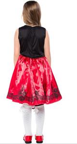 Costume du Petit Chaperon Rouge pour Filles - deuxieme image