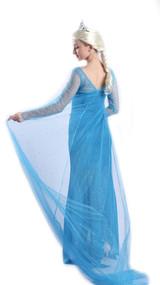 Costume d'Elsa la Princesse des Neiges pour Femmes - deuxieme image