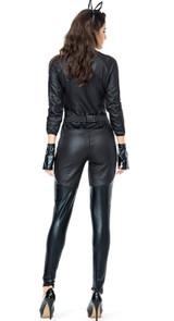 Costume de Catwoman en Faux Cuir pour Femmes - deuxieme image