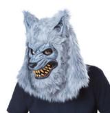Costume Loup Garou Gris pour Homme - deuxieme image