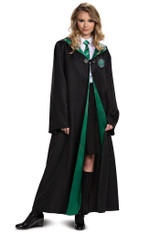 Robe Slytherin Deluxe pour Adulte