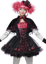 Costume de Poupée Victorienne pour Fille