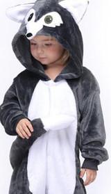 Costume Onesie Loup de Minuit pour Enfants