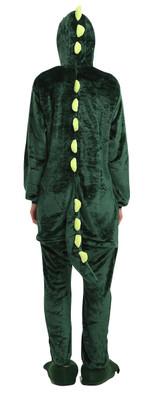 Costume Combinaison de Dinosaure Vert pour Adultes