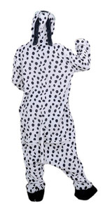Costume Combinaison Dalmatien pour Adultes
