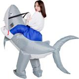Costume Gonflable de Requin pour Adultes